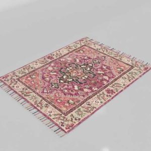 RugsDirect Loloi Rugs Zharah Raspberry Taupe