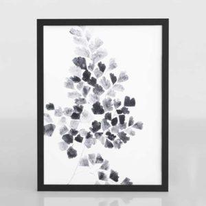 CB Black Fern Framed Wall Art