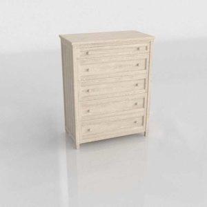 Buy 3D Model Bedding Dresser Glancing Eye 50