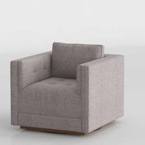 3D Designer&GE Swivel Chair Modelado