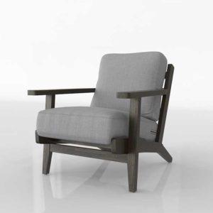 Wayfair Lora Accent Armchair Upholstery Slate Finish Espresso
