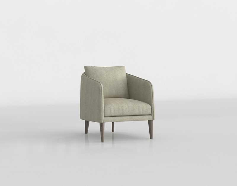 Excellent Crateandbarrel Rhys Bench Seat Chair Uwap Interior Chair Design Uwaporg