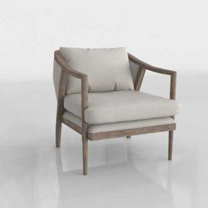 Potterybarn Lynn Accent Chair