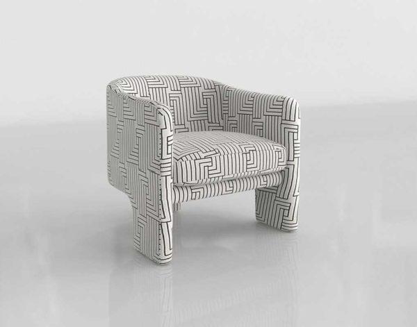 Anthropologie Effie Tripod Chair