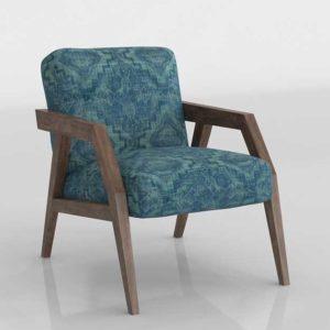 Perigold Lachlin Exposed Wood Armchair