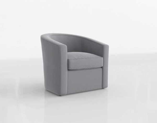 Interiordefine Alice Accent Chair In Elephant