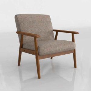 Wayfair Derryaghy Wood Frame Armchair