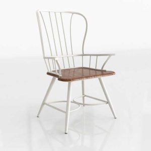 Wayfair Longford Arm Chair White Set Of 2