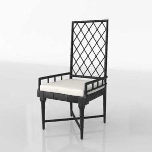 Wisteria Moorish Chippendale Chair