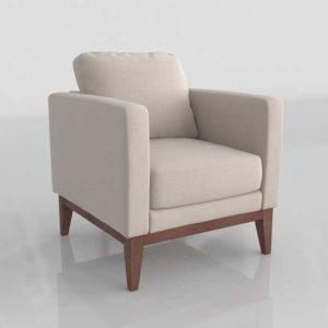 Wayfair Alba Chair 3D Modeling