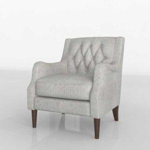 Wayfair Rogersville Armchair 3D Modeling