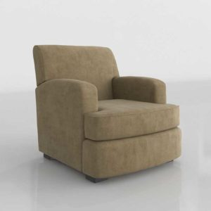 Glancing Eye and Designer 3D Armchair 1224