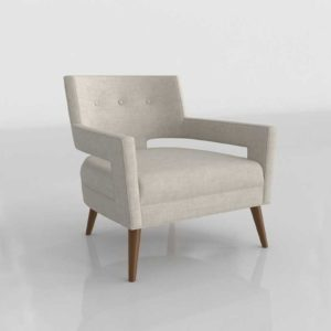 Wayfair Sheer Armchair Upholstery Sand