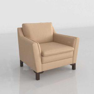 Glancing Eye 3D Model Armchair 206