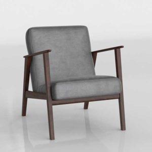 Glancing Eye 3D Model Armchair 208