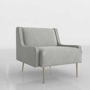 3D Modeling in Spain Living Room Design Chair 5018