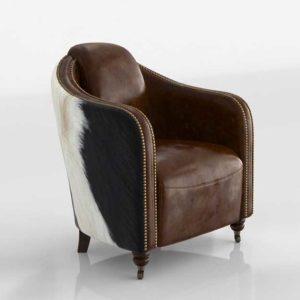 Wayfair Otavio Fullham Leather Armchair