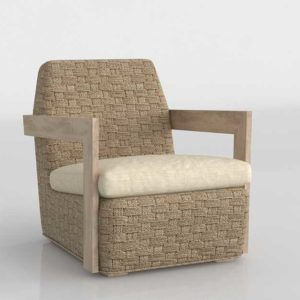 CB Coronado Seagrass Chair With Cushion Omega Dune