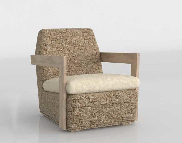 CB Coronado Seagrass Chair With Cushion Omega Dune