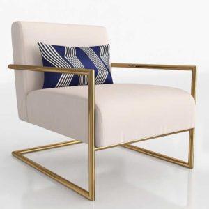 Wayfair Celine Linen Armchair