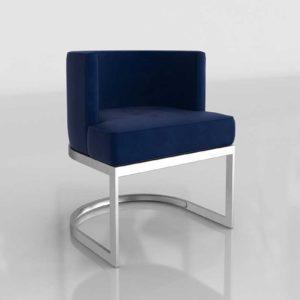 AllModern Hobson Upholstered 3D Dining Chair