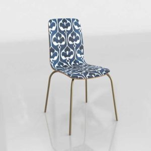 Buy 3D Furniture Dining Chair Glancing Eye 0710