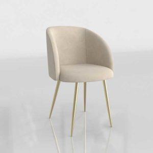 Wayfair Chu Upholstered 3D Dining Chair