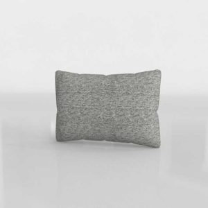 Diseño 3D Cojin Crateandbarrel Trevino Nickel
