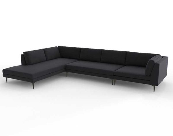 Astounding Andes Sectional Left Arm Chase Corner Shadow Alphanode Cool Chair Designs And Ideas Alphanodeonline