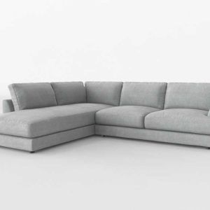 Westelm Haven 2 Piece Terminal Sectional Right Chaise