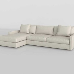 Room And Board Linger Sofa With Left Arm Chaise