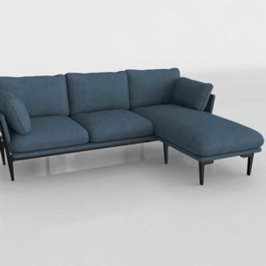 Salón Buy 3D Model Sectionals and Sets 2830