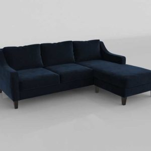 Salón Buy 3D Model Sectionals and Sets 2842