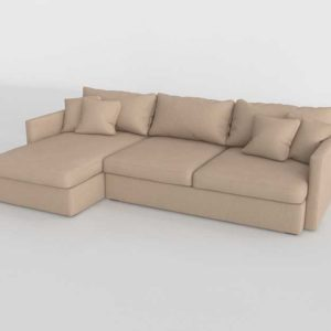 Salón Buy 3D Model Sectionals and Sets 2844