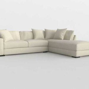 ZGallerie Del Mar Daybed Sectional 2 PC Rightarm Facing