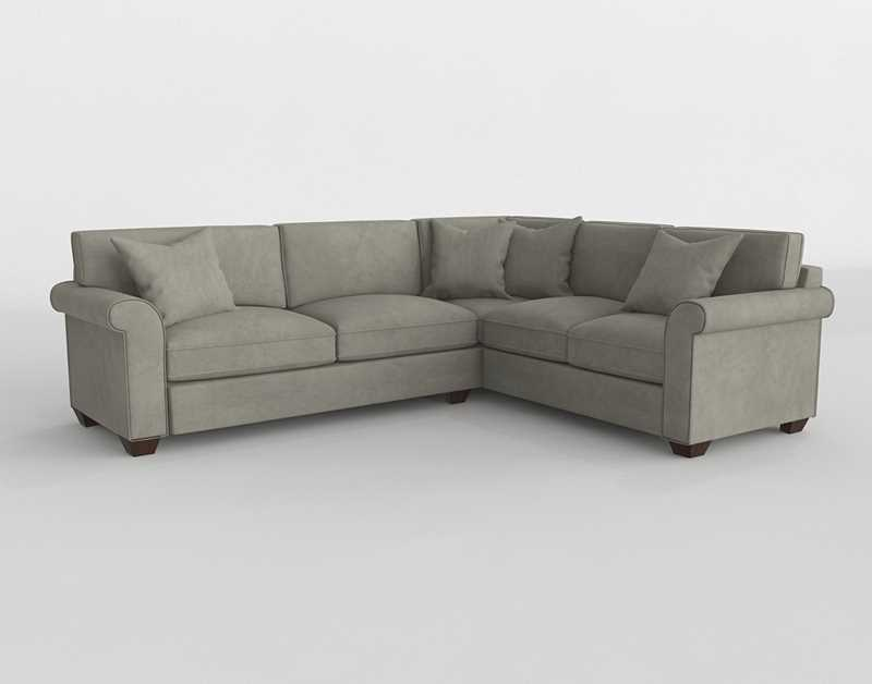 Havertys Norfolk Sectional In