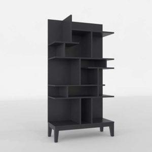 Diseño 3D Crate&Barrel Libreria para Niños