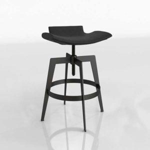 Taburete 3D Ajustable Sunpan Diseño Bancroft