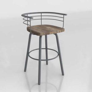 Taburete 3D Overstock Diseño Brisk