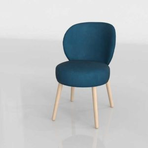Buy 3D Furniture 3D Dining Chair Glancing Eye 0713