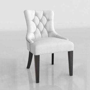 Wayfair Carlton Wood Leg Upholstered 3D Dining Chair