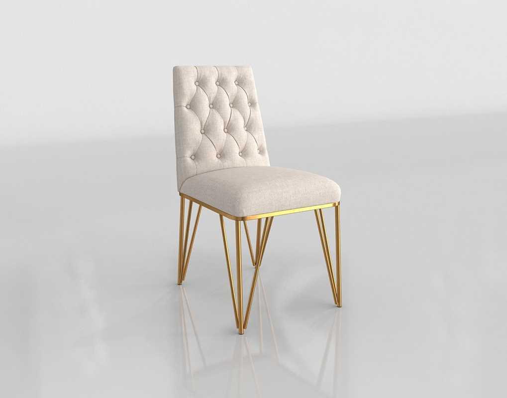 Awe Inspiring Allmodern Kory Upholstered 3D Dining Chair Glancing Eye Dailytribune Chair Design For Home Dailytribuneorg