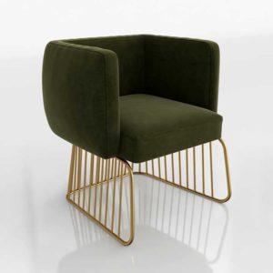 Sunpan Gala 3D Dining Chair