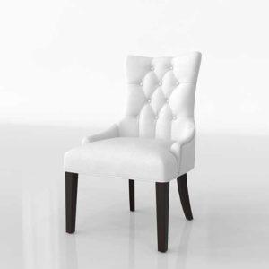 WayFair Burnett Vinyl 3D Dining Side Chair