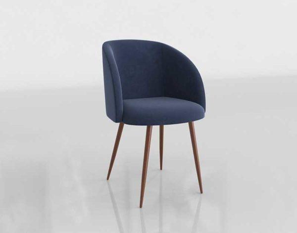 Wayfair Chu Upholstered 3D Dining Chair 02