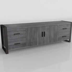Mueble de TV 3D Joss&Main Theodulus