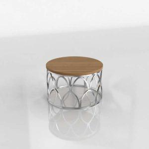 Mesa de Cafe 3D 0860