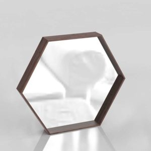 Miriana Hexagonal Mirror 3D Model