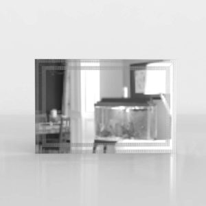 Modelo 3D Espejo Lunas de Malaga