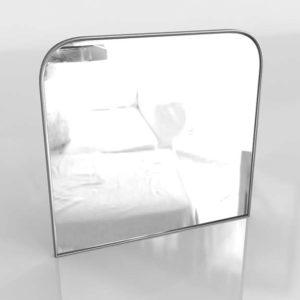 3D Mirror C&B Edge Nickel Arch